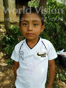 Choose a child to sponsor, like this little boy from Maya, Juan Angel age 5