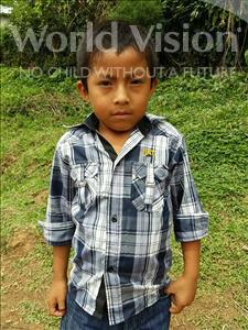 Choose a child to sponsor, like this little boy from Maya, Ever Wilfredo age 8