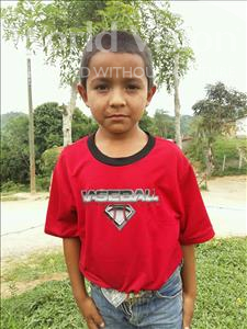 Choose a child to sponsor, like this little boy from Maya, Jorge age 8