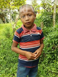 Choose a child to sponsor, like this little boy from Maya, Kelvin Alexander age 8