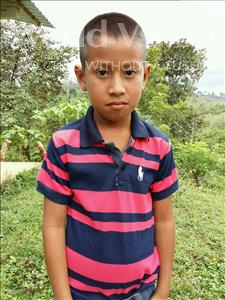 Choose a child to sponsor, like this little boy from Maya, Junior Omar age 7