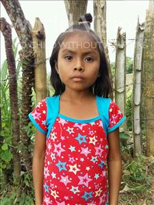 Choose a child to sponsor, like this little girl from Maya, Luvin Lorena age 7