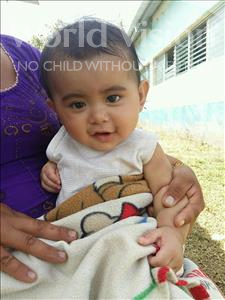 Choose a child to sponsor, like this little boy from Maya, Jose Manuel age under 1