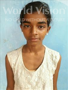 Choose a child to sponsor, like this little girl from Bhojpur, Neetu age 13