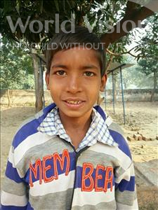 Choose a child to sponsor, like this little boy from Bhojpur, Golu age 7