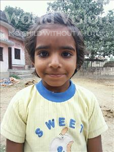 Choose a child to sponsor, like this little girl from Bhojpur, Bandana age 7