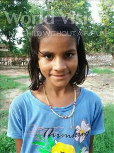 Choose a child to sponsor, like this little girl from Bhojpur, Kanchan age 10