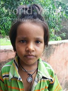 Choose a child to sponsor, like this little girl from Bhojpur, Anjana age 5