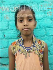 Choose a child to sponsor, like this little girl from Bhojpur, Shristi age 8