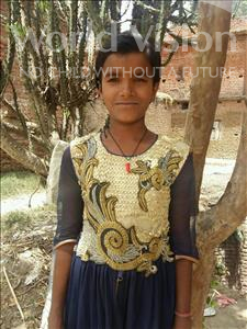 Choose a child to sponsor, like this little girl from Bhojpur, Priyanka age 9
