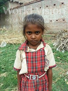Choose a child to sponsor, like this little girl from Bhojpur, Nandani age 7