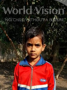 Choose a child to sponsor, like this little boy from Bhojpur, Nitish age 8