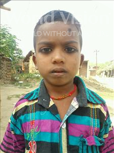 Choose a child to sponsor, like this little boy from Bhojpur, Pawan age 6