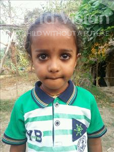 Choose a child to sponsor, like this little boy from Bhojpur, Aasish age 6