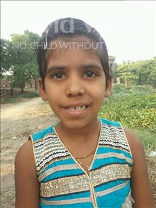 Choose a child to sponsor, like this little girl from Bhojpur, Riya age 8