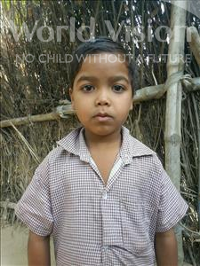 Choose a child to sponsor, like this little girl from Bhojpur, Sonam age 7