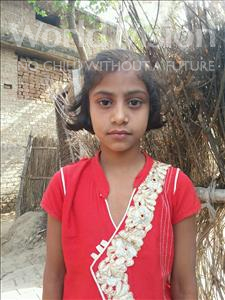 Choose a child to sponsor, like this little girl from Bhojpur, Priya age 9
