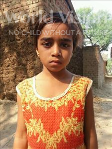 Choose a child to sponsor, like this little girl from Bhojpur, Seema age 9
