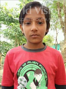 Choose a child to sponsor, like this little girl from Bhojpur, Sristi age 8