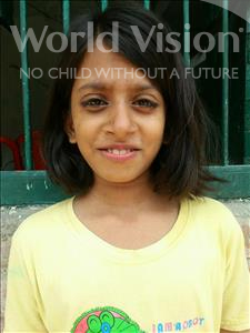 Choose a child to sponsor, like this little girl from Bhojpur, Muskan age 12