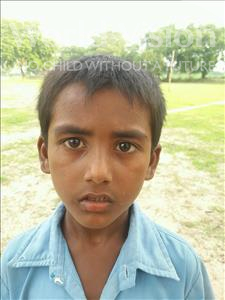 Choose a child to sponsor, like this little boy from Bhojpur, Deep age 6