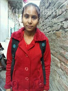 Choose a child to sponsor, like this little girl from Patna, Jyoti age 13