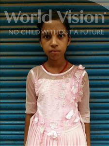 Choose a child to sponsor, like this little girl from Patna, Chanda age 10