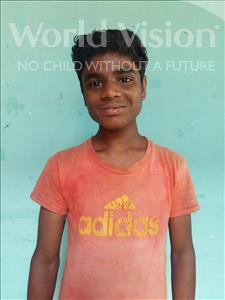 Choose a child to sponsor, like this little boy from Patna, Sumit age 12