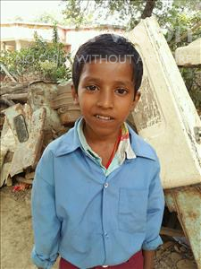 Choose a child to sponsor, like this little boy from Patna, Pawan age 7
