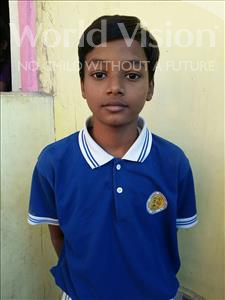Choose a child to sponsor, like this little boy from Patna, Sidhant age 11