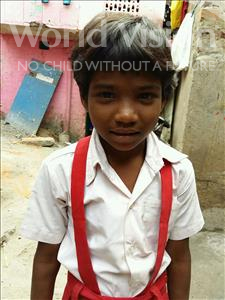 Choose a child to sponsor, like this little girl from Patna, Muskan age 7