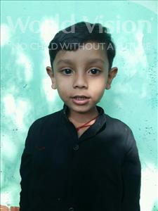 Choose a child to sponsor, like this little boy from Patna, Arnav age 5