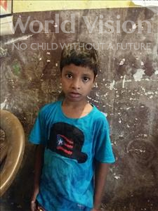 Choose a child to sponsor, like this little boy from Patna, Shravan age 8