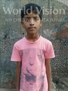 Choose a child to sponsor, like this little boy from Patna, Rishu age 10