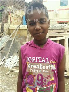 Choose a child to sponsor, like this little boy from Patna, Manish age 10