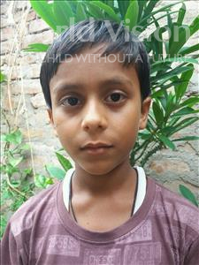 Choose a child to sponsor, like this little boy from Patna, Mukul age 12