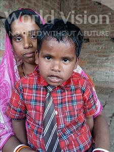 Choose a child to sponsor, like this little boy from Patna, Abhishek age 6