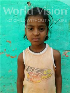 Choose a child to sponsor, like this little girl from Patna, Janhavi age 6