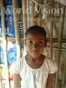 Choose a child to sponsor, like this little girl from Patna, Tanya age 9