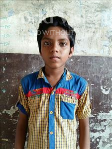 Choose a child to sponsor, like this little boy from Patna, Vivek age 12
