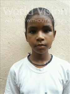 Choose a child to sponsor, like this little girl from Patna, Roshni age 6
