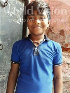Choose a child to sponsor, like this little boy from Patna, Ameer age 12
