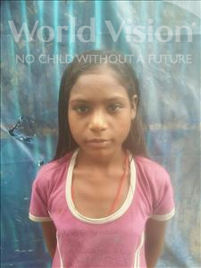 Choose a child to sponsor, like this little girl from Patna, Bharti age 9