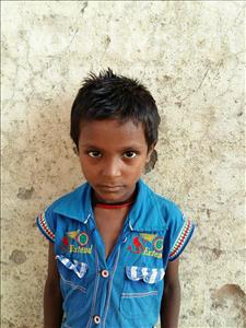 Choose a child to sponsor, like this little boy from Patna, Sahil age 6