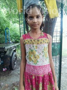Choose a child to sponsor, like this little girl from Patna, Nishu age 9