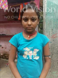 Choose a child to sponsor, like this little girl from Patna, Anjali age 11