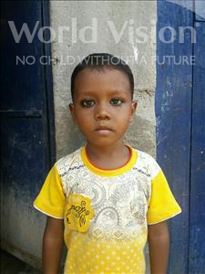 Choose a child to sponsor, like this little boy from Patna, Ayush age 4