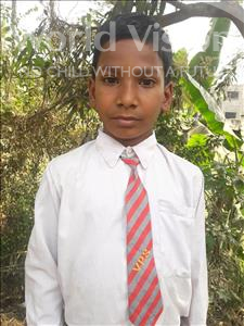 Choose a child to sponsor, like this little boy from Vaishali, Nishu age 9