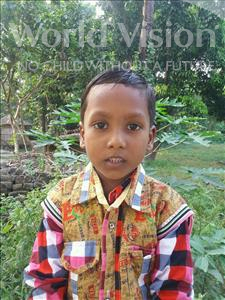 Choose a child to sponsor, like this little boy from Vaishali, Abinash age 6