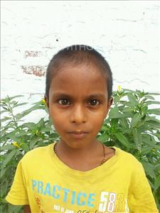 Choose a child to sponsor, like this little boy from Vaishali, Shivam age 8